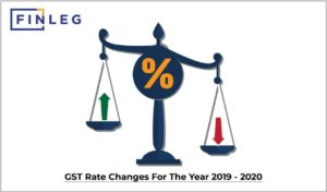 GST rate changes for the year 2019-2020